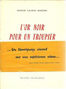 1961 or noir pour un troupier 1961