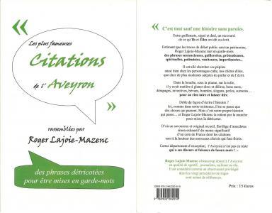 2012 citations de l aveyron 2012
